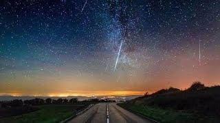 Рекордно яркий звездопад Персеиды