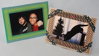 Recycled Washi Tape Photo Frame|sophie's World