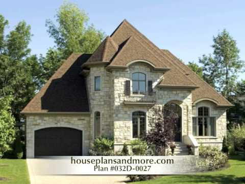 European homes video 1 house plans and more youtube for European home designs llc