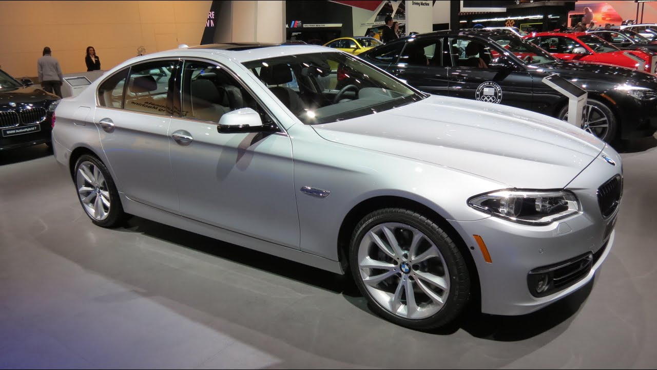 2015 bmw 535d at the 2014 naias auto show youtube. Black Bedroom Furniture Sets. Home Design Ideas