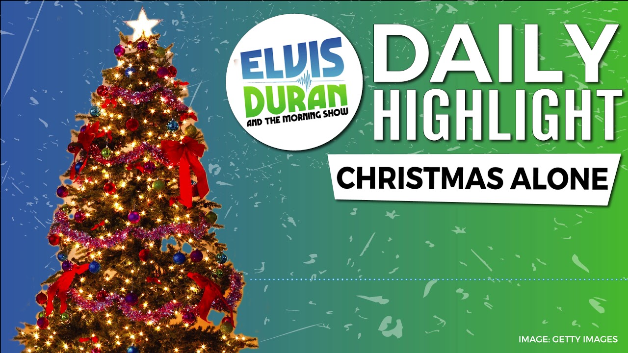 Christmas Alone Elvis Duran Daily Highlight Youtube