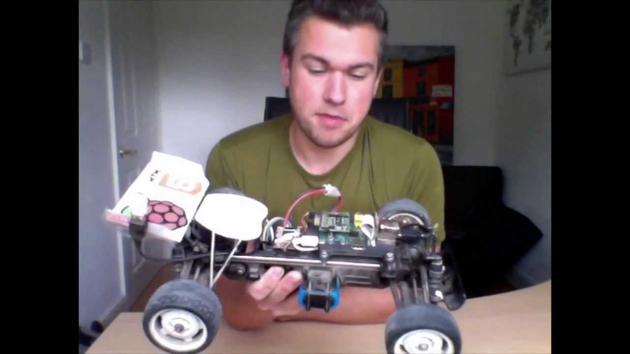 Awesome Raspberry Pi iPhone WiFi radio controlled car toy with POV video