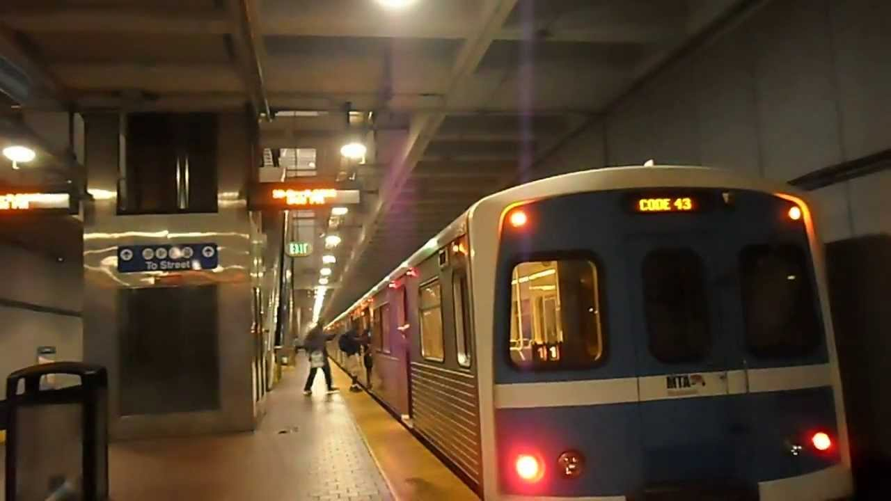 Mta Maryland Baltimore Metro Subway Mondawmin Youtube