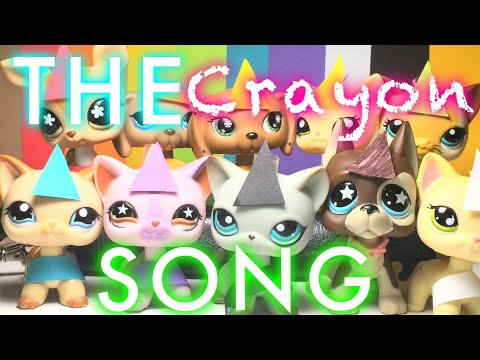 LPS MV: The Crayon Song Gets Ruined - Ft. My Friends! (ORIGINAL MEME) - Audio By Studio C