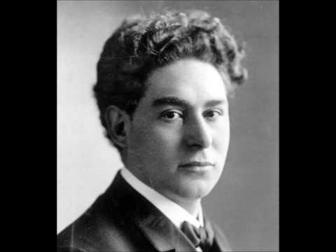 Harold Bauer plays Brahms Piano Sonata No.3 Op.5