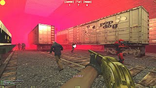Counter-Strike: Zombie Escape Mod - ze_TRAINYARD on Dark Professional
