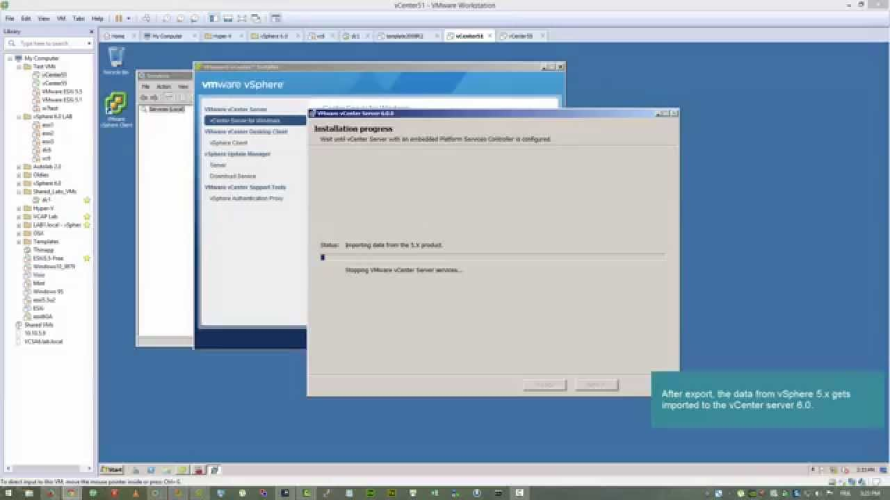 Vmware vcenter server 4.1 update 3a and modules