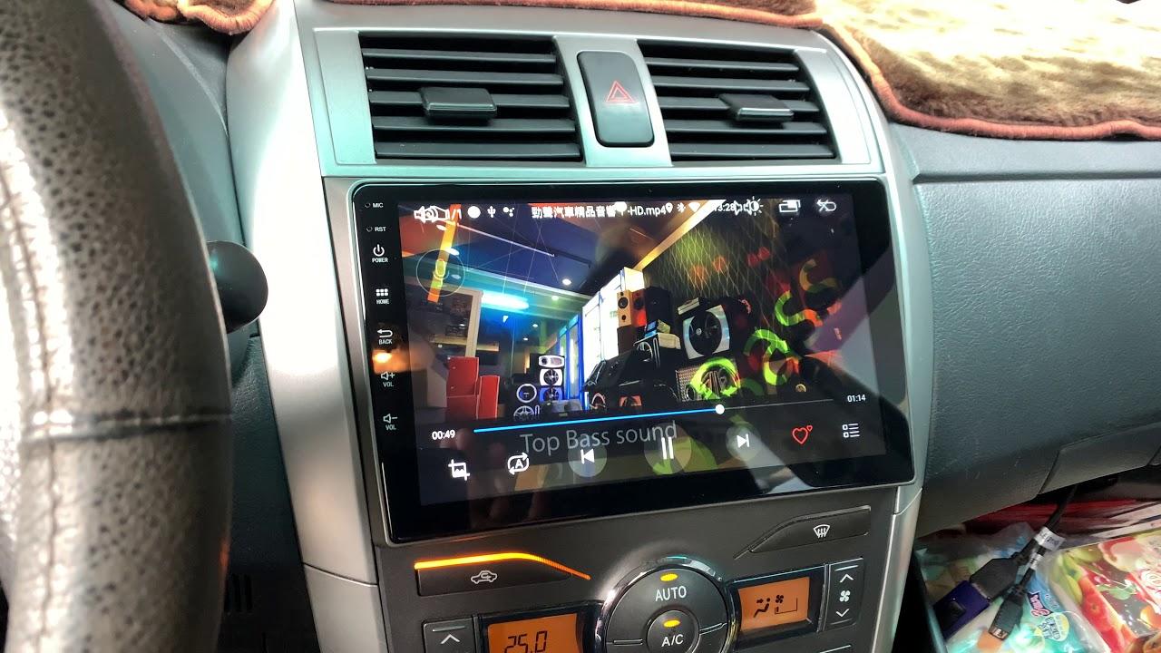 勁聲安卓影音 ALTIS 10.5代 JHY A23 專用型安卓系統主機 9吋 全觸控 Android 9.0 IPS 雙聲控 左右分屏 2+32G TOYOTA 豐田 金 ...