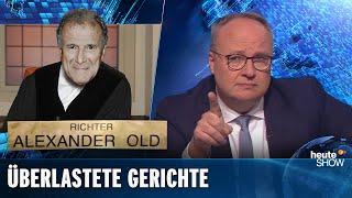 Die deutsche Justiz: überlastet und überaltert