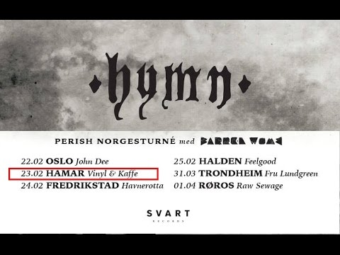 HYMN live @ Vinyl & Kaffe Hamar Norway 23rd Feb 2017