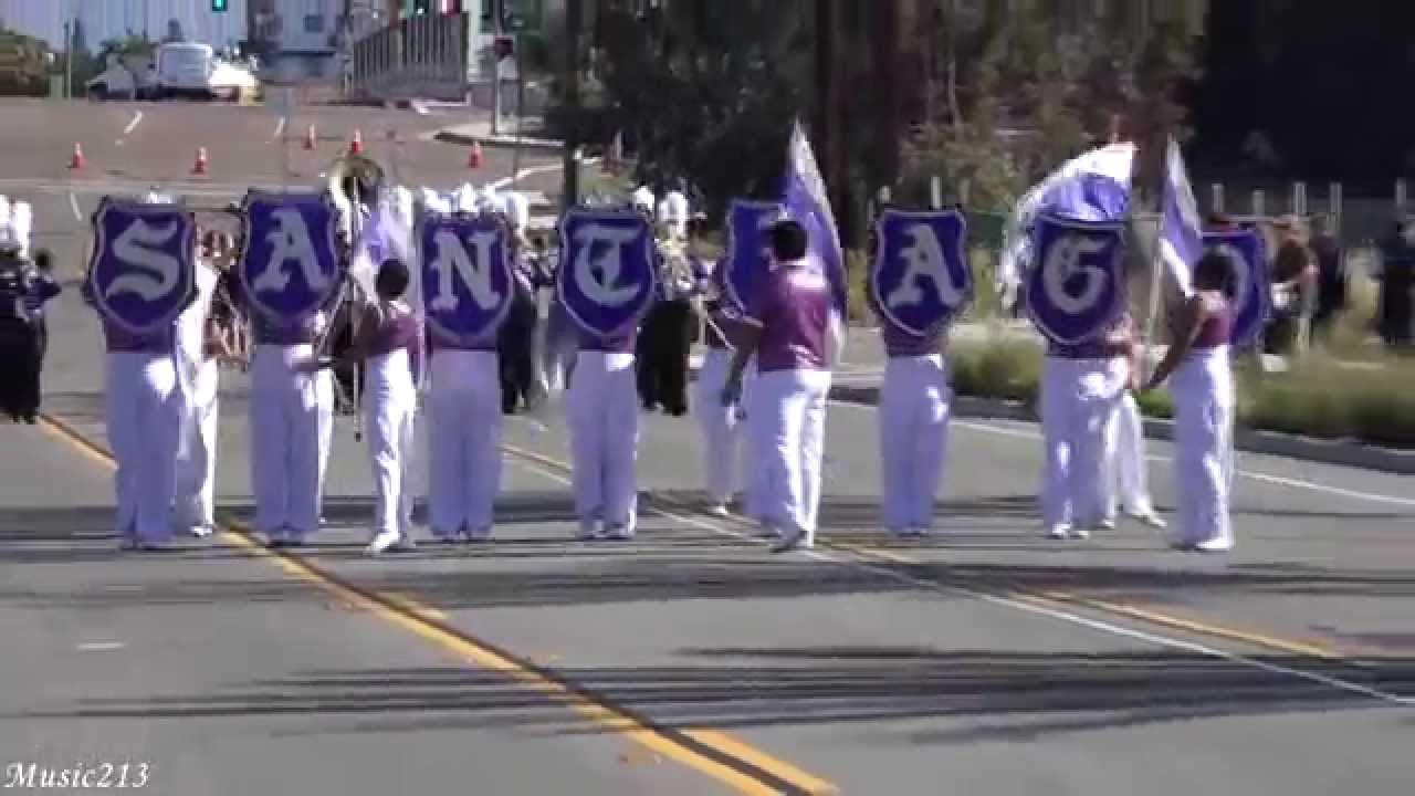 Santiago Hs Nobles Of The Mystic Shrine 2015 Chula Vista Bayfront Band Review Youtube