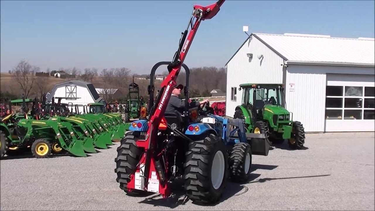 Sickle Bar Boom Mower for Compact Tractors!