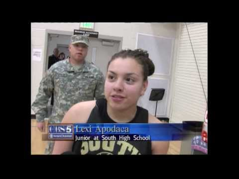 Soldier Return Surprises Sister at Basketball Practice
