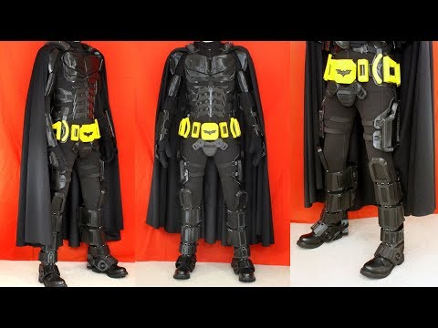 Batman Cosplay Suit #5 with Ninjaflex | James Bruton