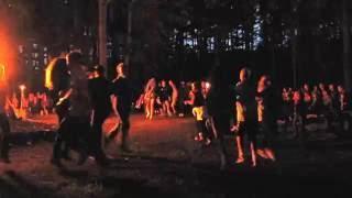 Campfire program (Laužo Programa) Song u0026 Dance