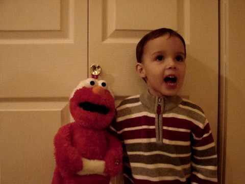 Levi and Elmo Christmas Song