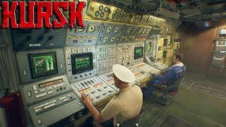 KURSK Ep. 02 - Meeting The Captain & Crew, DIVE DIVE DIVE | Kursk Gameplay