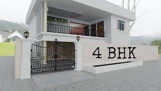 Plan 3d Interior Design Home Plan || 3d Home Plan || Full Walkthrough || By 3d Design