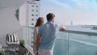 Experience luxury beachside living at Azure Residences, Palm Jumeirah