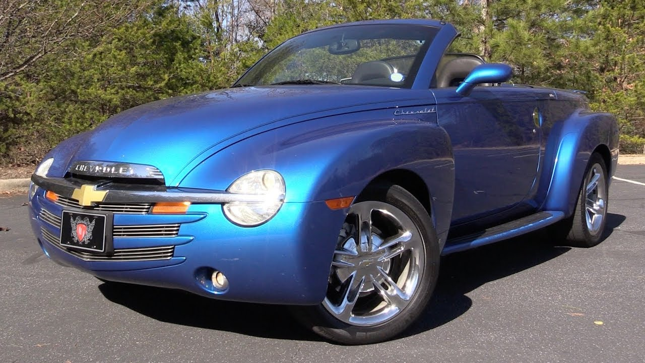 2006 Chevrolet Ssr 395 Hp Ls2 V8 Start Up Test Drive In Depth Review