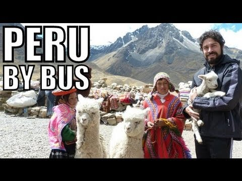 Magical Peru #18: Travelling by Bus From Puno to Cusco [Part 1 of 2]