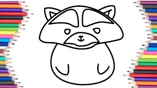 Easy Drawing Animals I How to Draw Animals I Coloring Pages