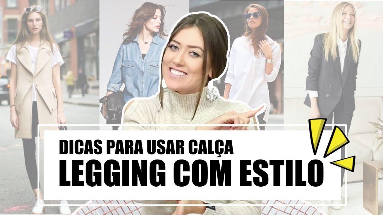 a4a8ff0e7062fe COMO USAR CALÇA LEGGING - Vitória Portes - YouTube