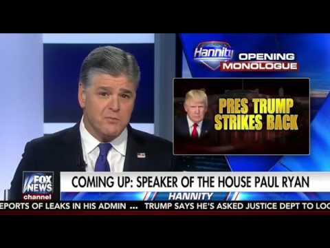 Sean Hannity Full Show HD No Commercials 2 16 17 Interview W Benjamin Netanyahu Paul Ryan