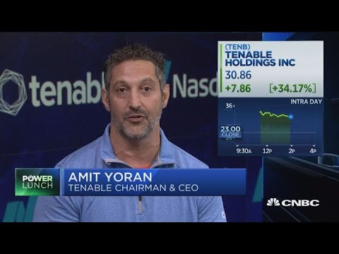 Tenable soars on IPO, CEO explains why they're public