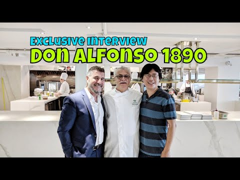 Exclusive Interview: Chef Alfonso Iaccarino at Don Alfonso 1890 Toronto