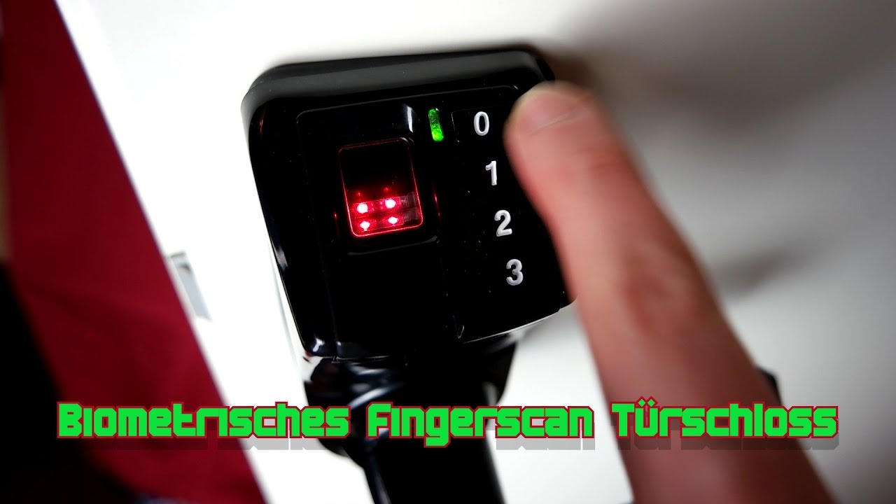 Biometrisches Fingerscan Turschloss Elektrisch Fingerabdruck Adel