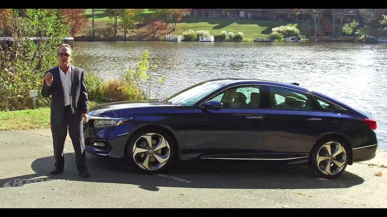 2018 Honda Accord Car Review Test Drive