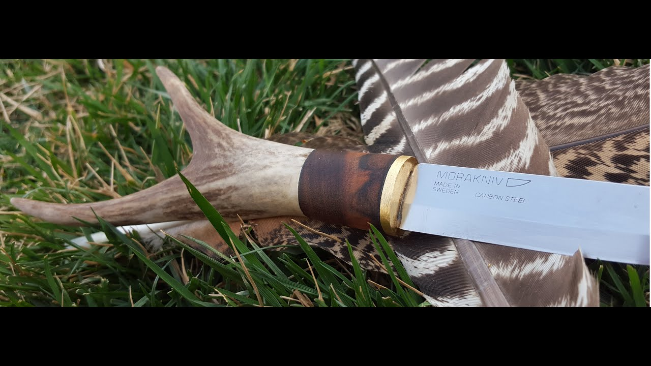 How To Make An Antler Thine Knife Handle