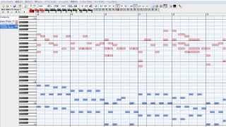 TVアニメ「ブラック・ブレット」のオープニング曲(TVサイズ) MIDI演奏(ピアノ) 61鍵対応でキーボード、シンセでも弾けるようになっています.
