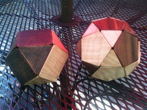 Sliding Geometric Puzzle