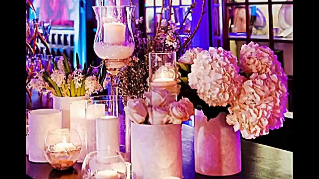 Dekoration Hochzeit Rosa