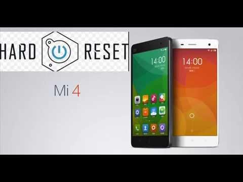 Xiaomi MI4 hard reset or pattern unlock   muist watch   - YouTube