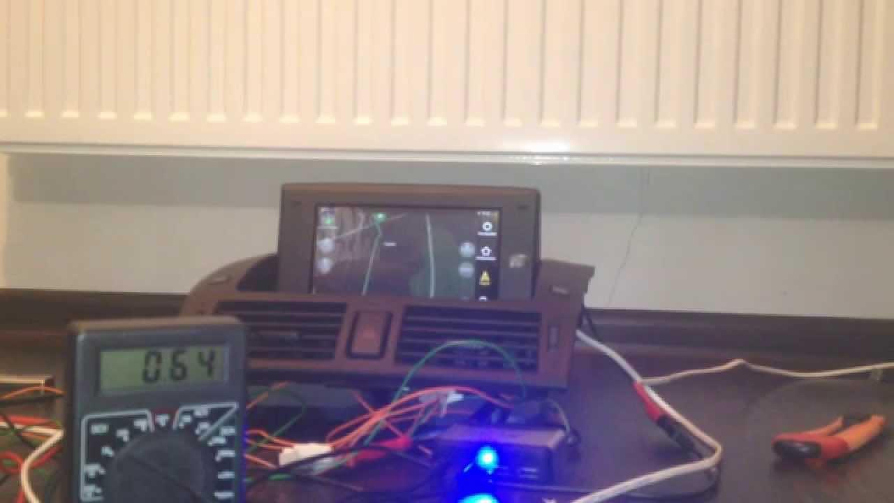 nexus 7 dc-dc install for mazda 3 - youtube