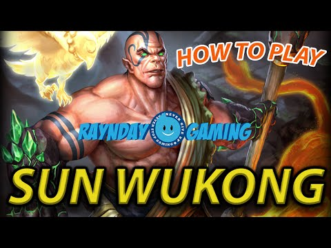 How To Play: Sun Wukong! SMITE Sun Wukong Gameplay and Build! New Format!
