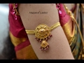 GOLD ARMLET-BAJUBAND DESIGNS FOR WEDDING AND FESTIVALS-2017,LATEST BAJUBAND DESIGNS , GOLD JEWELLERY