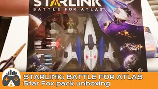 [Starlink: Battle For Atlas] Star Fox pack - Unboxing