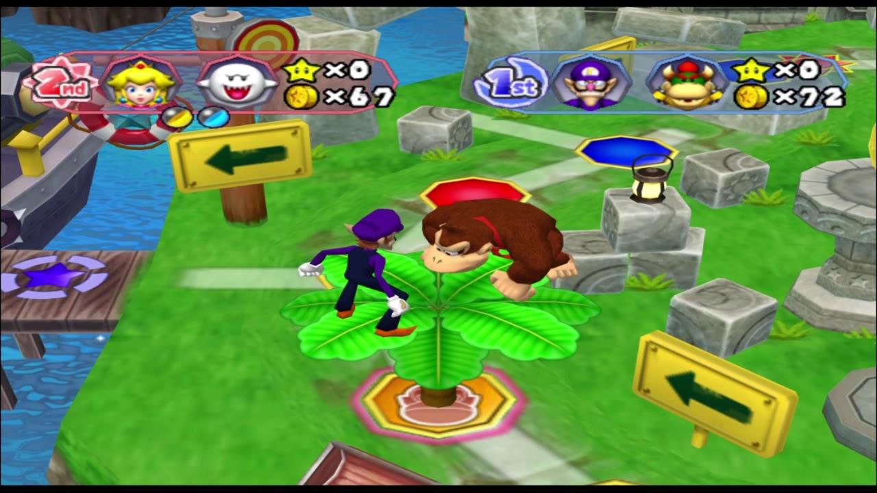 Mario Party 6: Castaway Bay - Aaron & Rick Vs Sal & Eddy