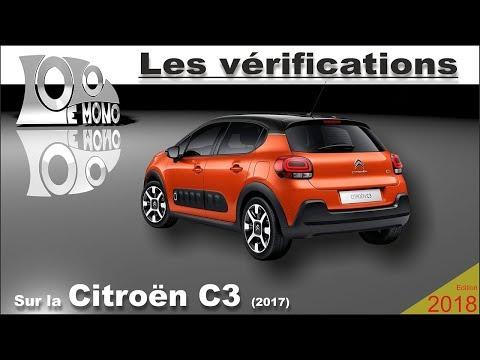 Nouvelle Citroën C3: vérifications et sécurité routière