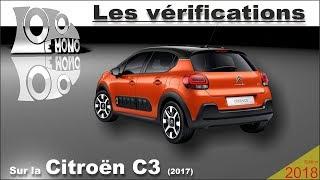 Nouvelle Citroën C3 vérifications et sécurité routière