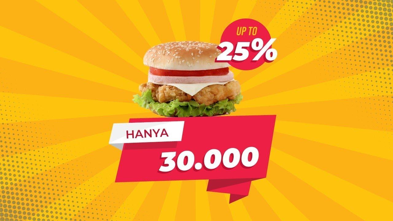 Contoh Banner Promosi Makanan Internasional - desain ...