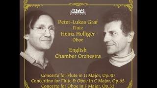 Peter-Lukas Graf & Heinz Holliger - Franz Krommer: Concertino for Flute & Oboe in C Major, Op. 65
