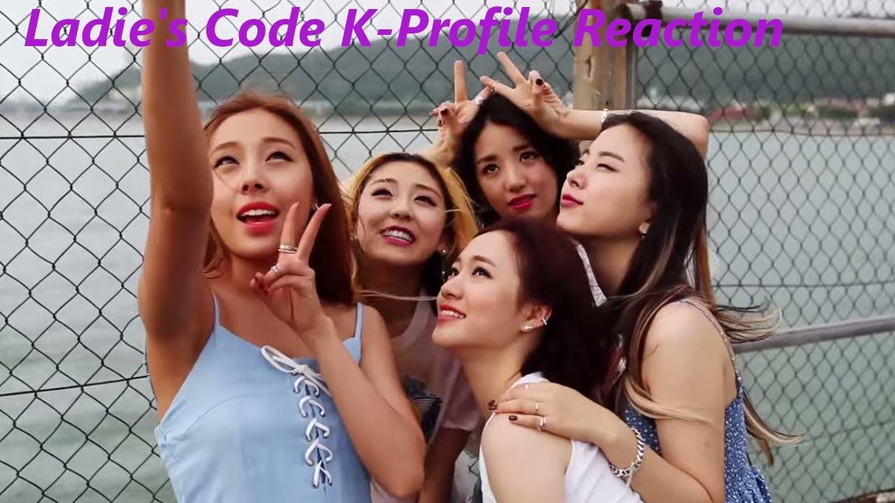 Ladies Code K Profile Reaction Youtube Ladies code was originally made up of 5 members; youtube