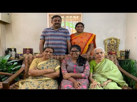 Me And My Daughter's Family 💓 - Revathy Shanmugam