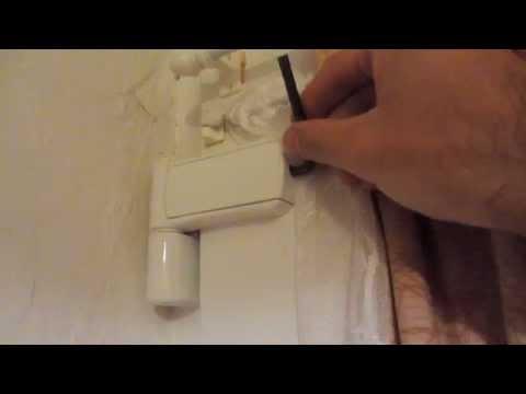 How to adjust PVC door with an Allen / Inbus Key
