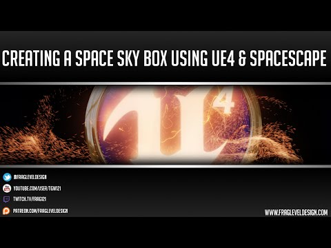 Unreal Engine 4 Tutorial: Space Skybox Creation